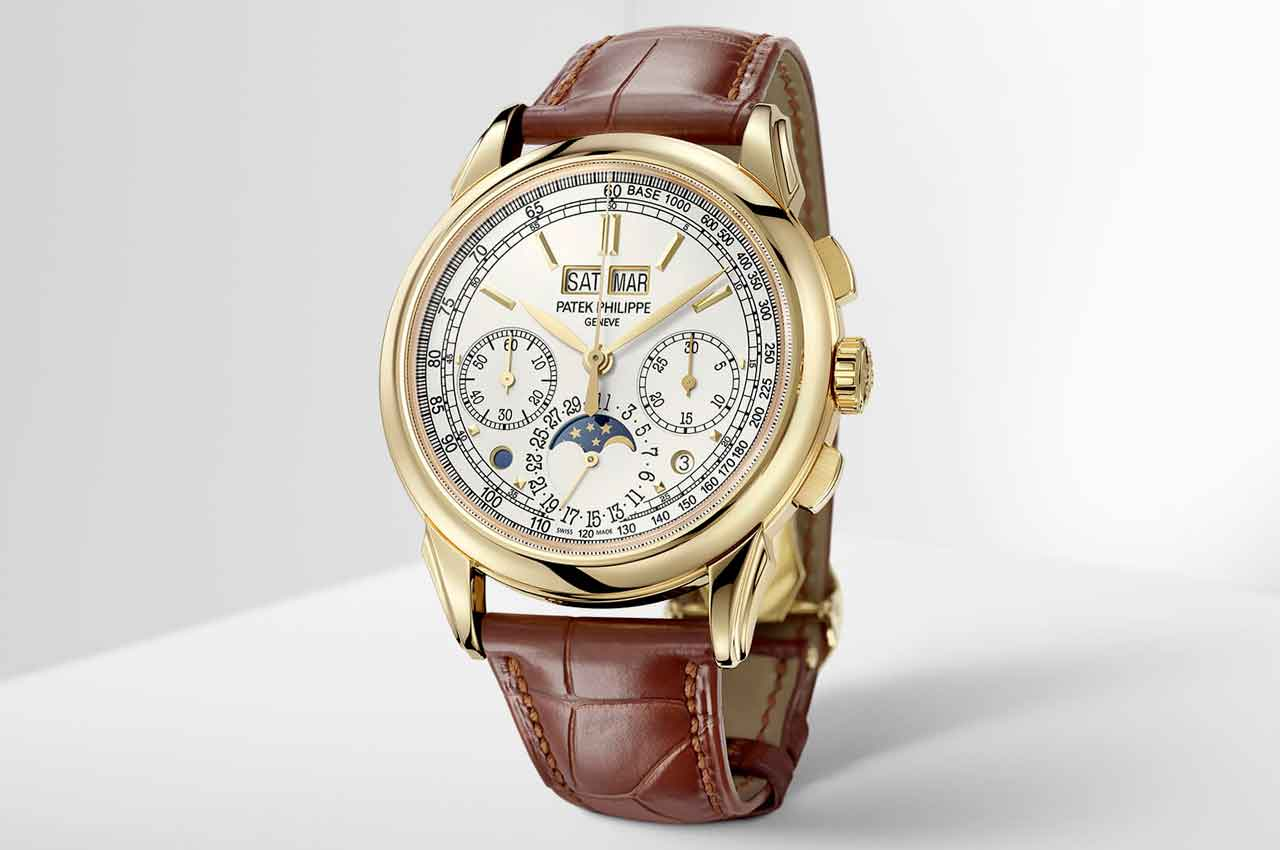 Patek Philippe Ref. 5270 - новые золотые часы с вечным календарем