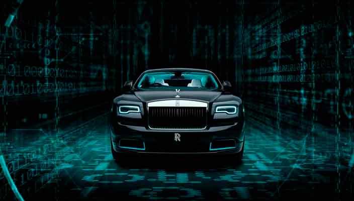 Вышло эксклюзивное купе Rolls-Royce Wraith Kryptos | фото