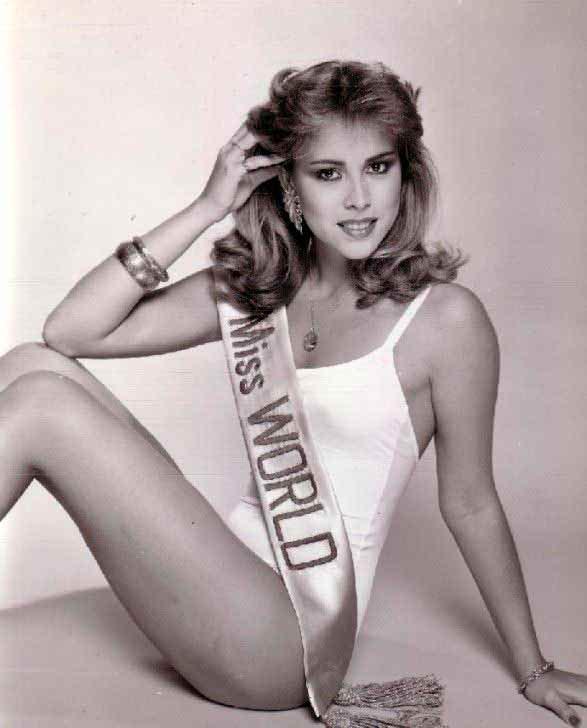 Фото | Мисс Мира 1981 года Пилин Леон
