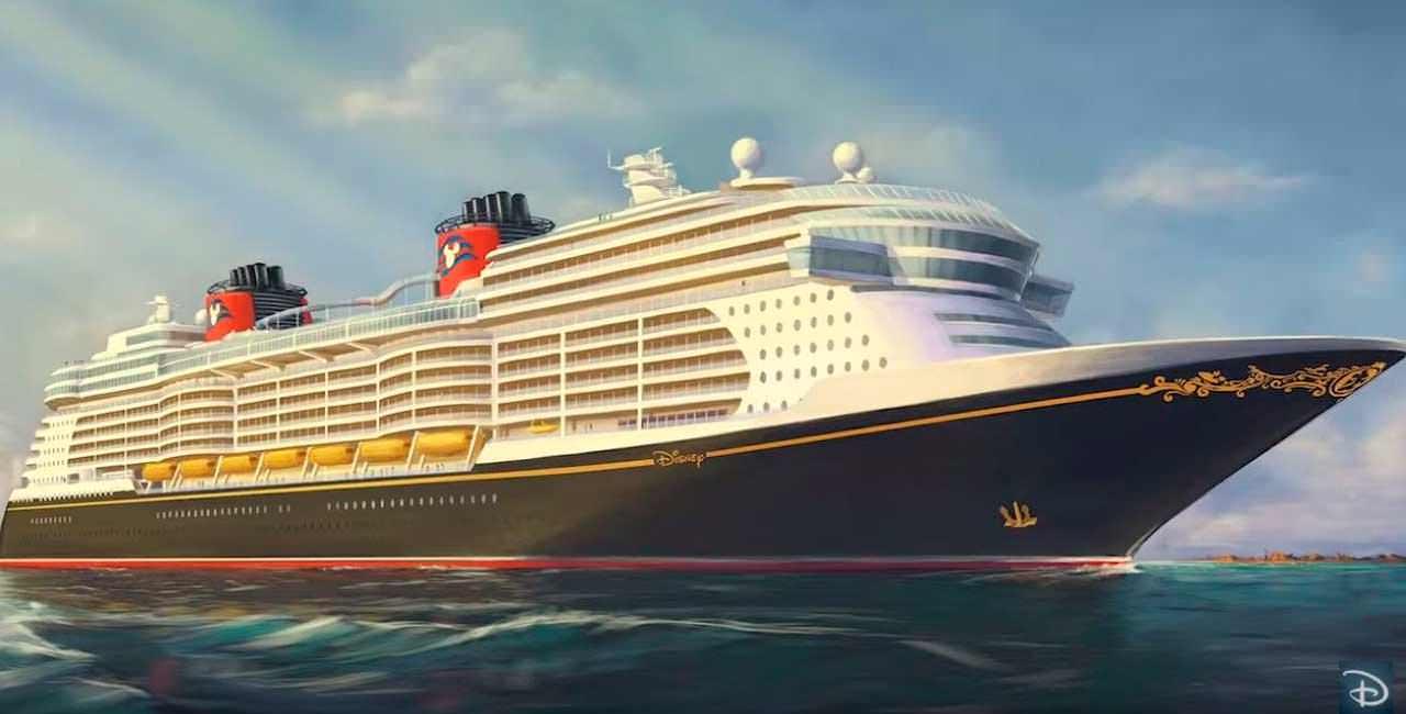 Круизный лайнер Disney Wish