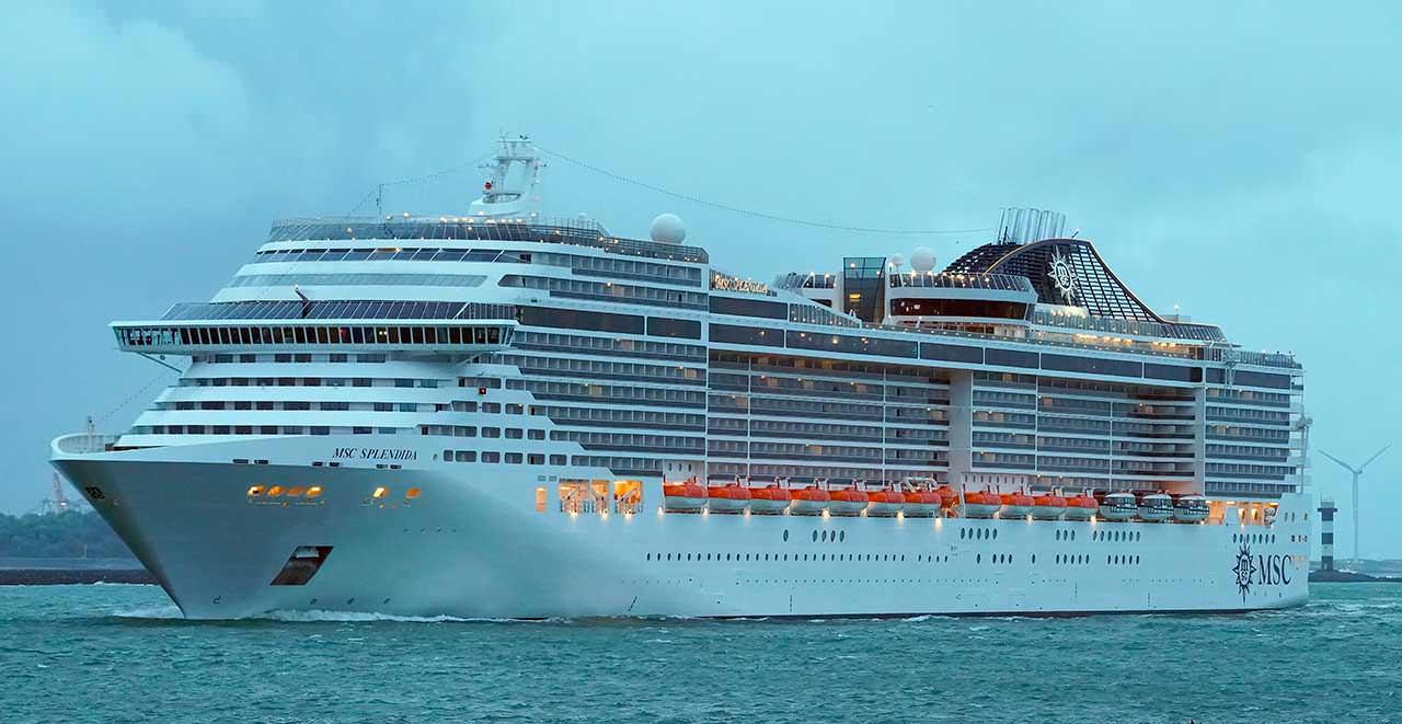 Круизный корабль MSC Splendida