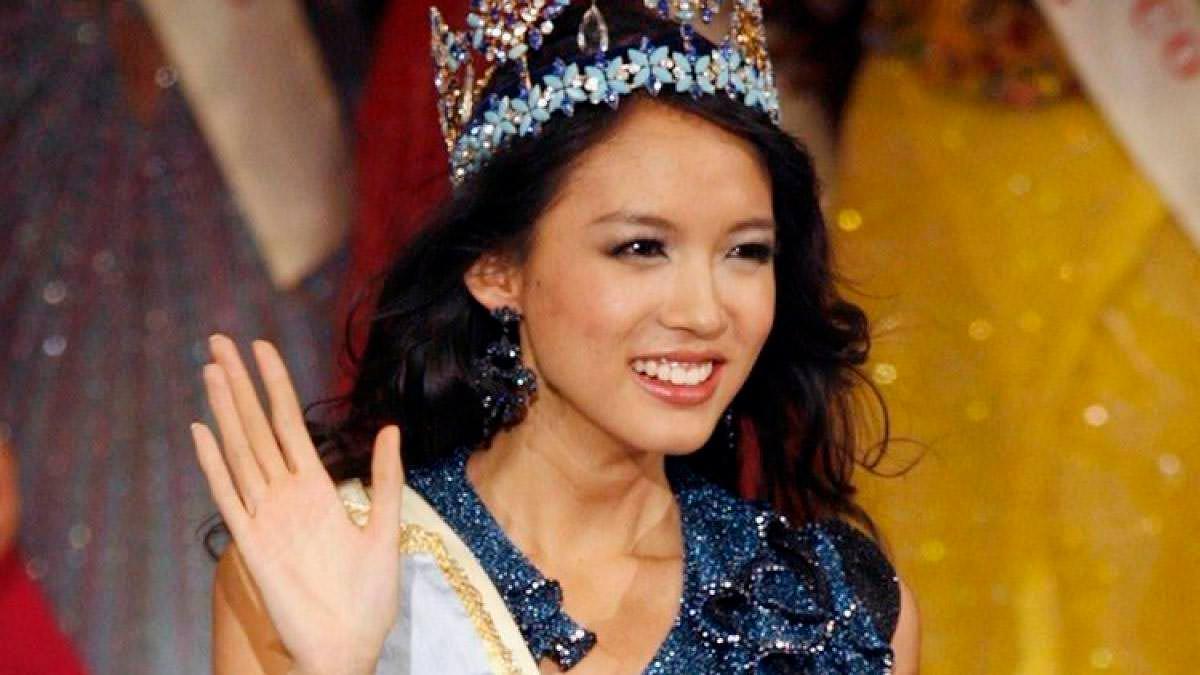 Фото | Мисс Мира 2007 года Чжан Цзылинь