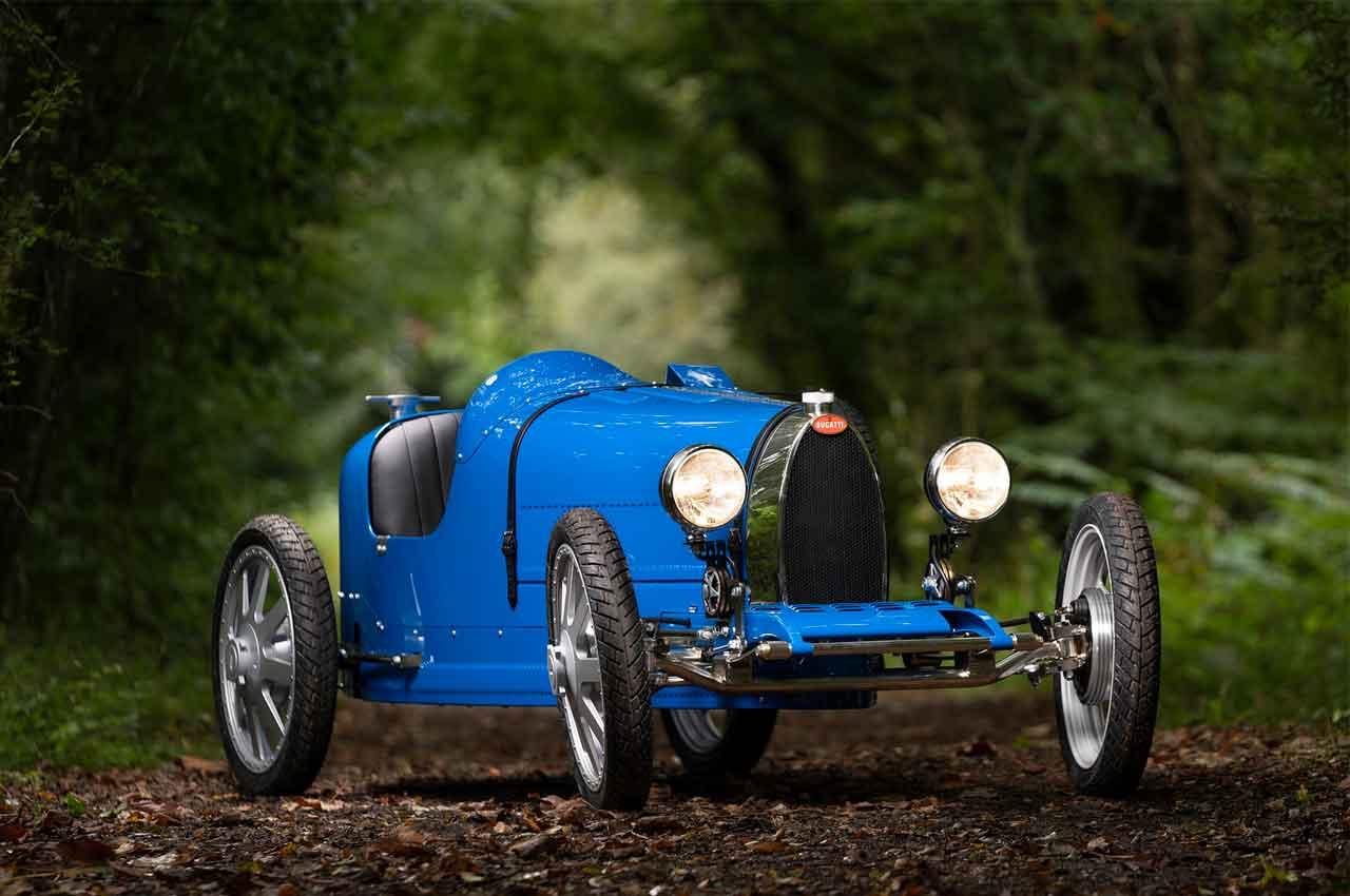 Bugatti Baby II - детский электромобиль за €30 000 | фото