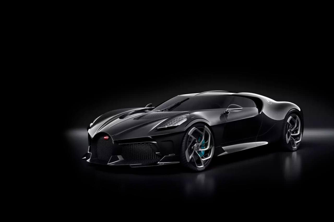 Bugatti La Voiture Noire - самый дорогой автомобиль в мире   фото