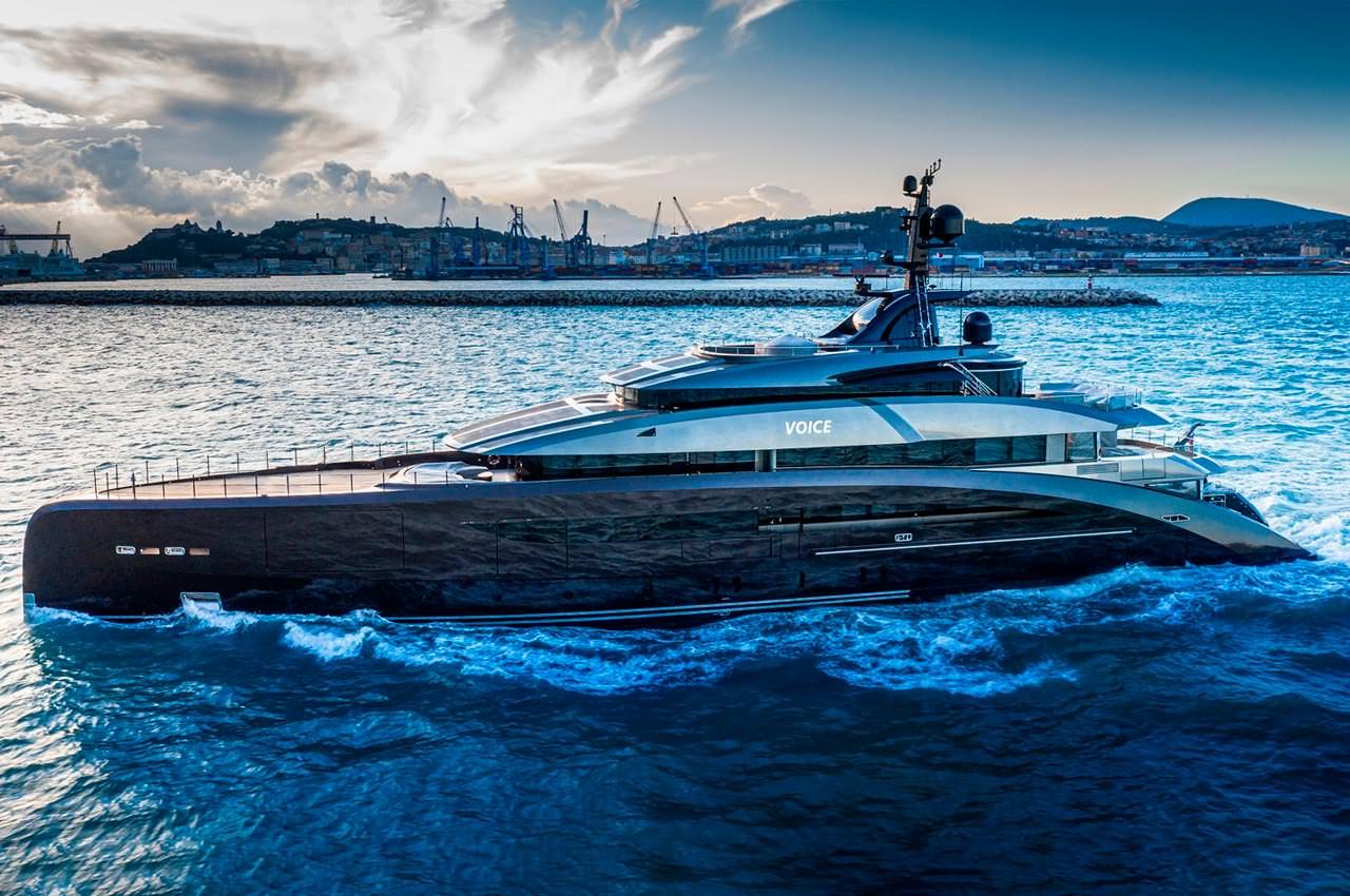 Итальянская верфь CRN показала яхту Voice длиной 62-м | фото