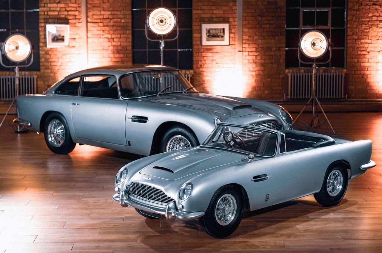 Создан детский Aston Martin DB5 по цене нового Mercedes C-Class