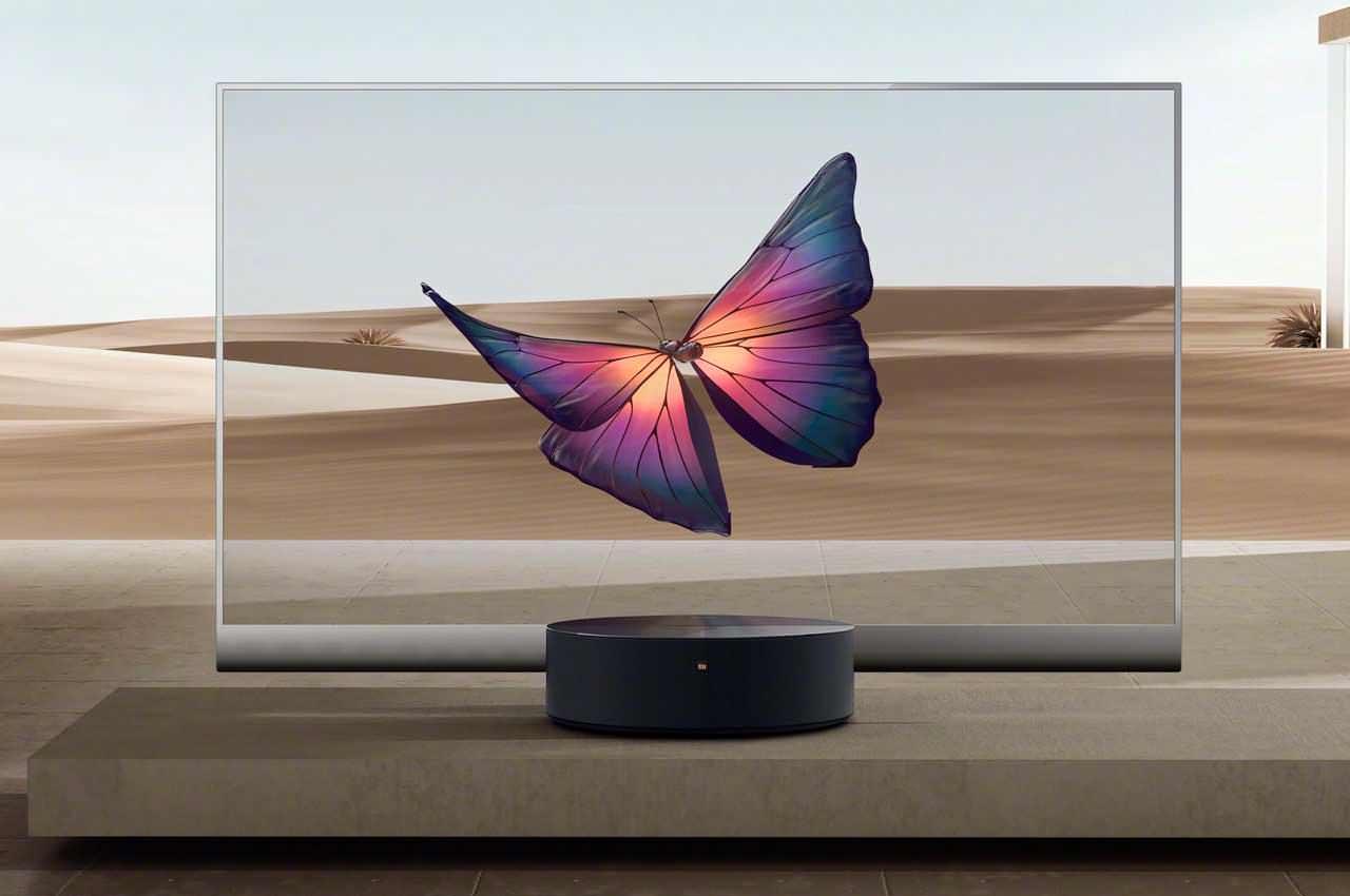 Xiaomi выпустила первый в мире прозрачный телевизор   цена