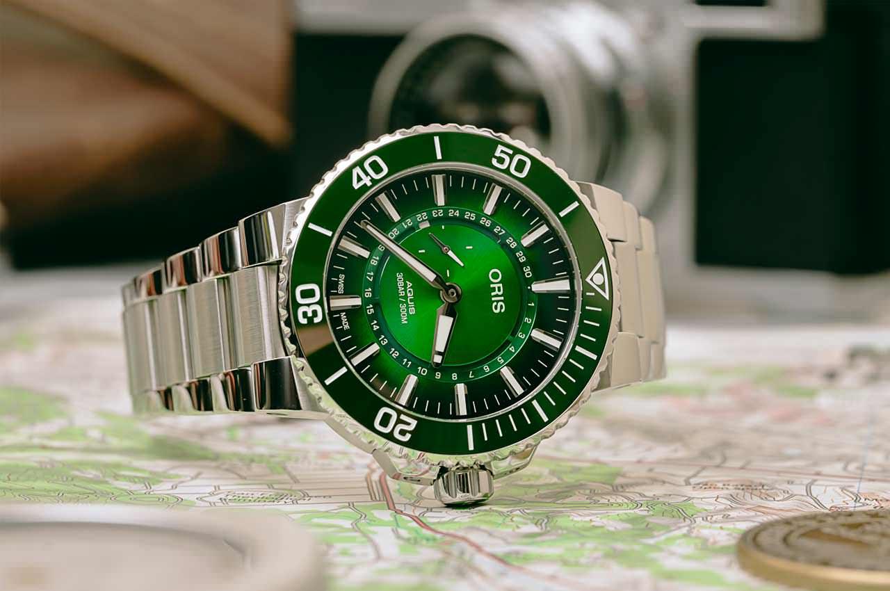 Oris выпустила лимитированные часы Aquis Hangang | цена