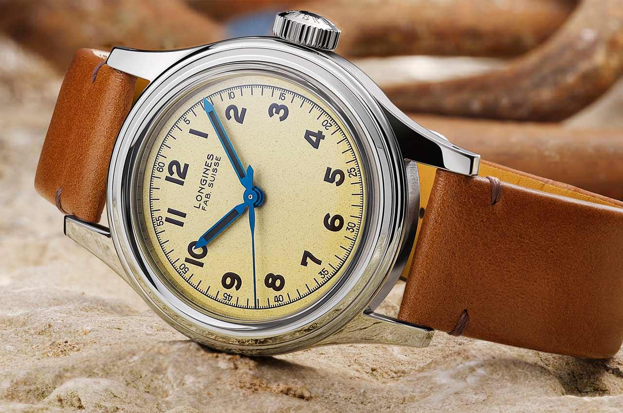 Longines выпустил винтажные часы Heritage Military Marine Nationale