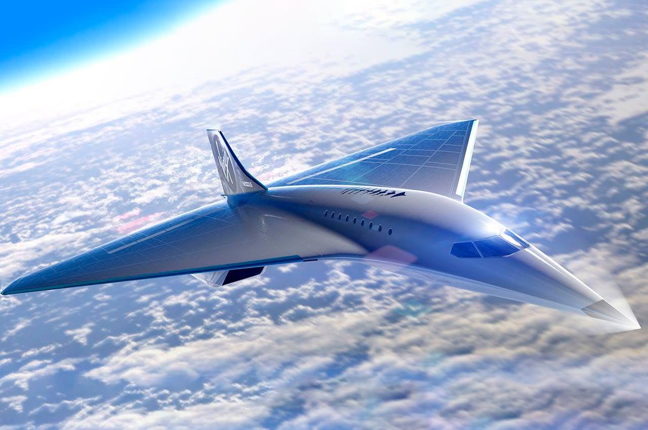 Virgin Galactic представила дизайн сверхзвукового самолета