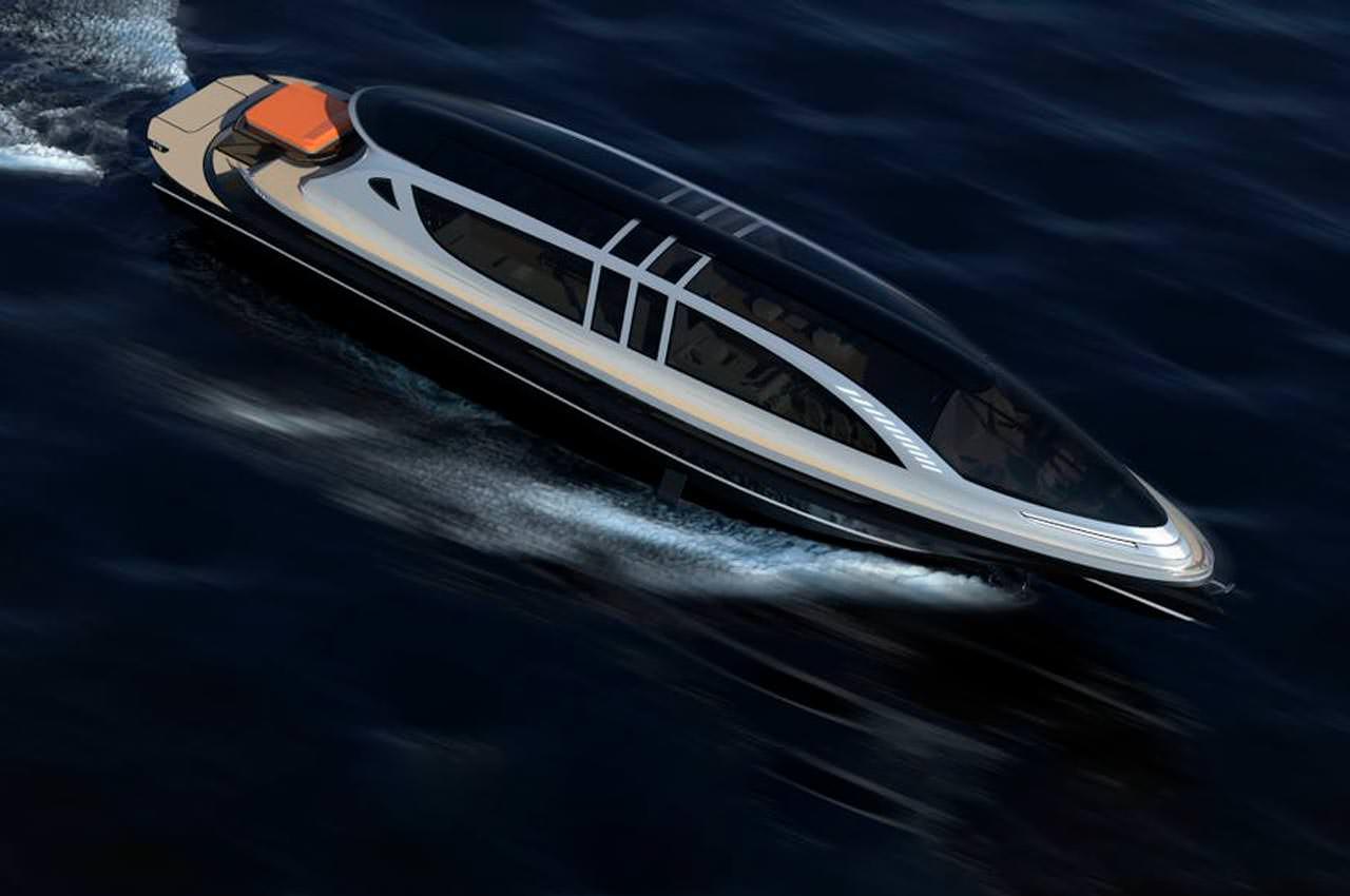 Суперъяхта Xenos - эксклюзивно для фанатов Bugatti Chiron
