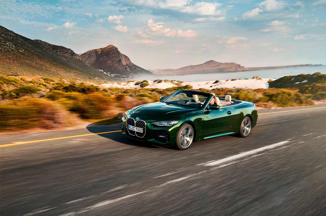 Новый кабриолет BMW 4-Series Convertible G23 официально | фото