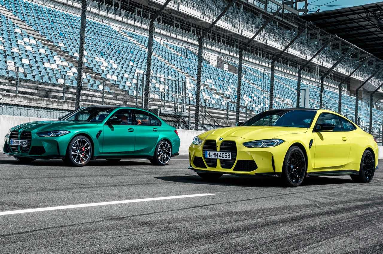 Показаны новые BMW M3 и M4 в кузовах G80 и G82 | фото, инфо