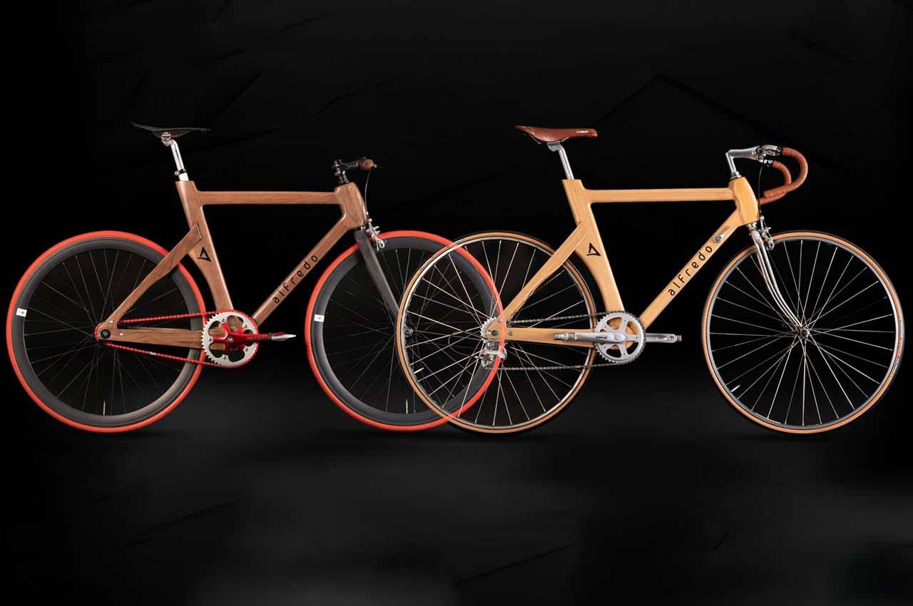 Компания Alfredo Bikes переосмыслила деревянный велосипед