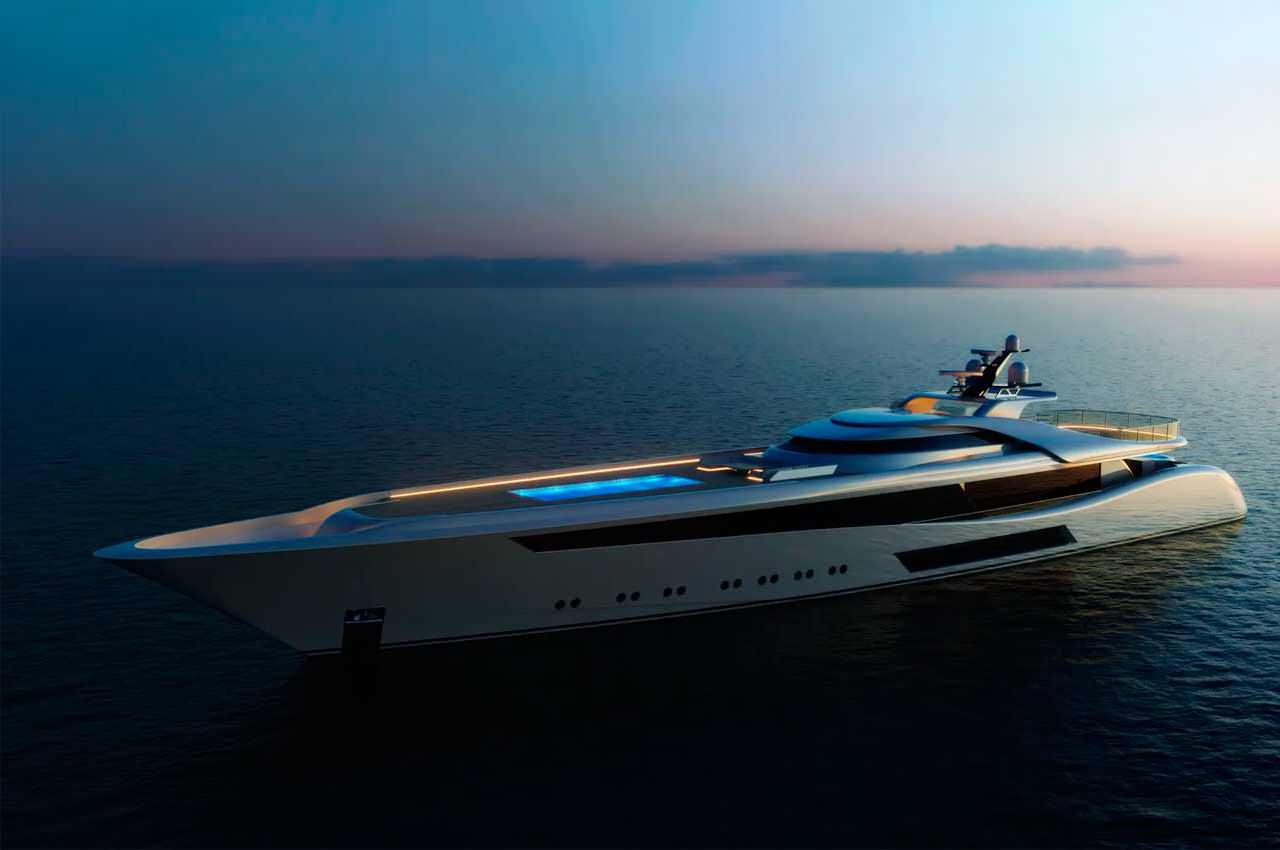 Feadship сделал концепт спортивной яхты Project 3073 | фото