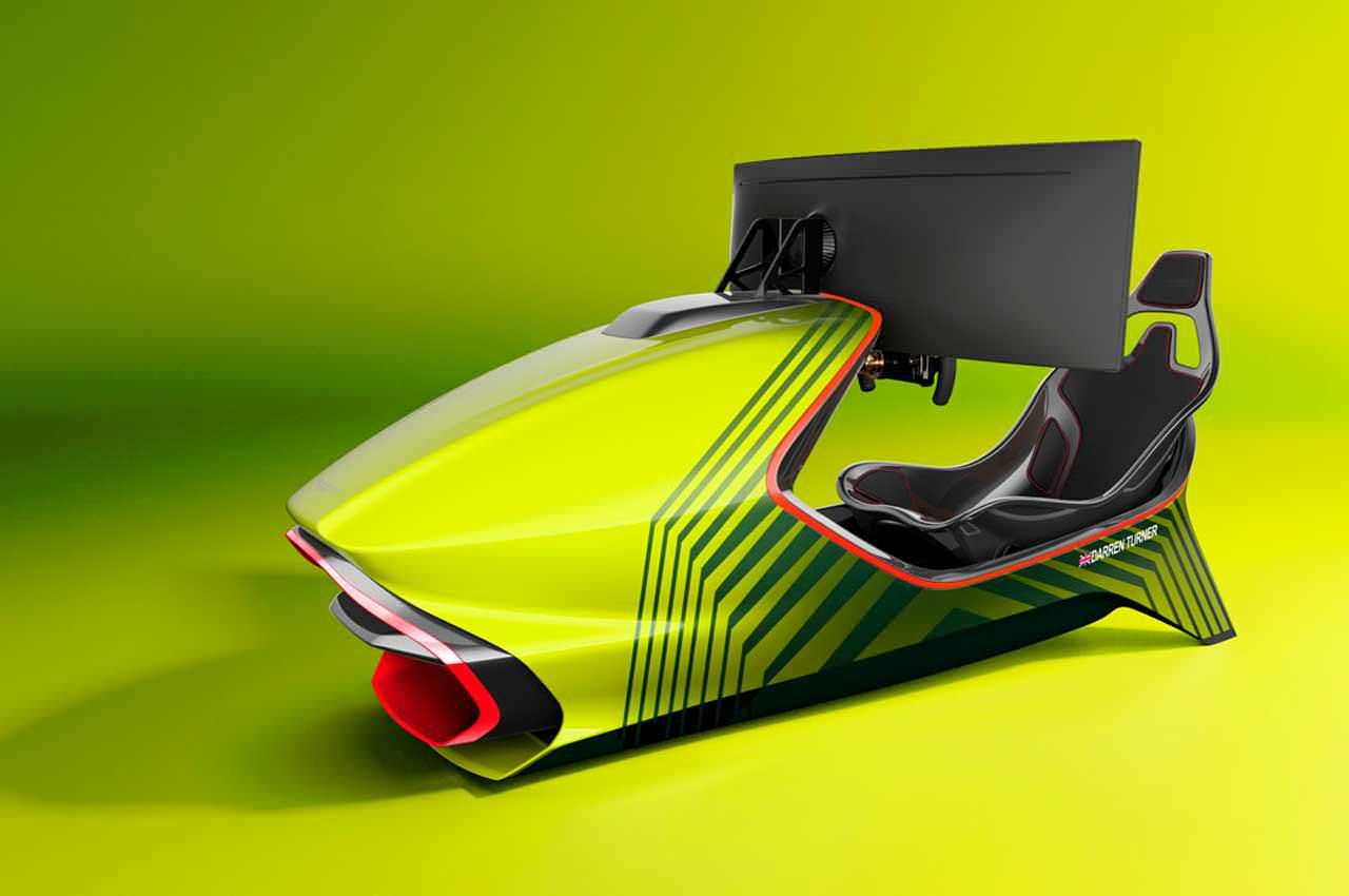 Aston Martin сделал гоночный симулятор AMR-C01 за £57 500