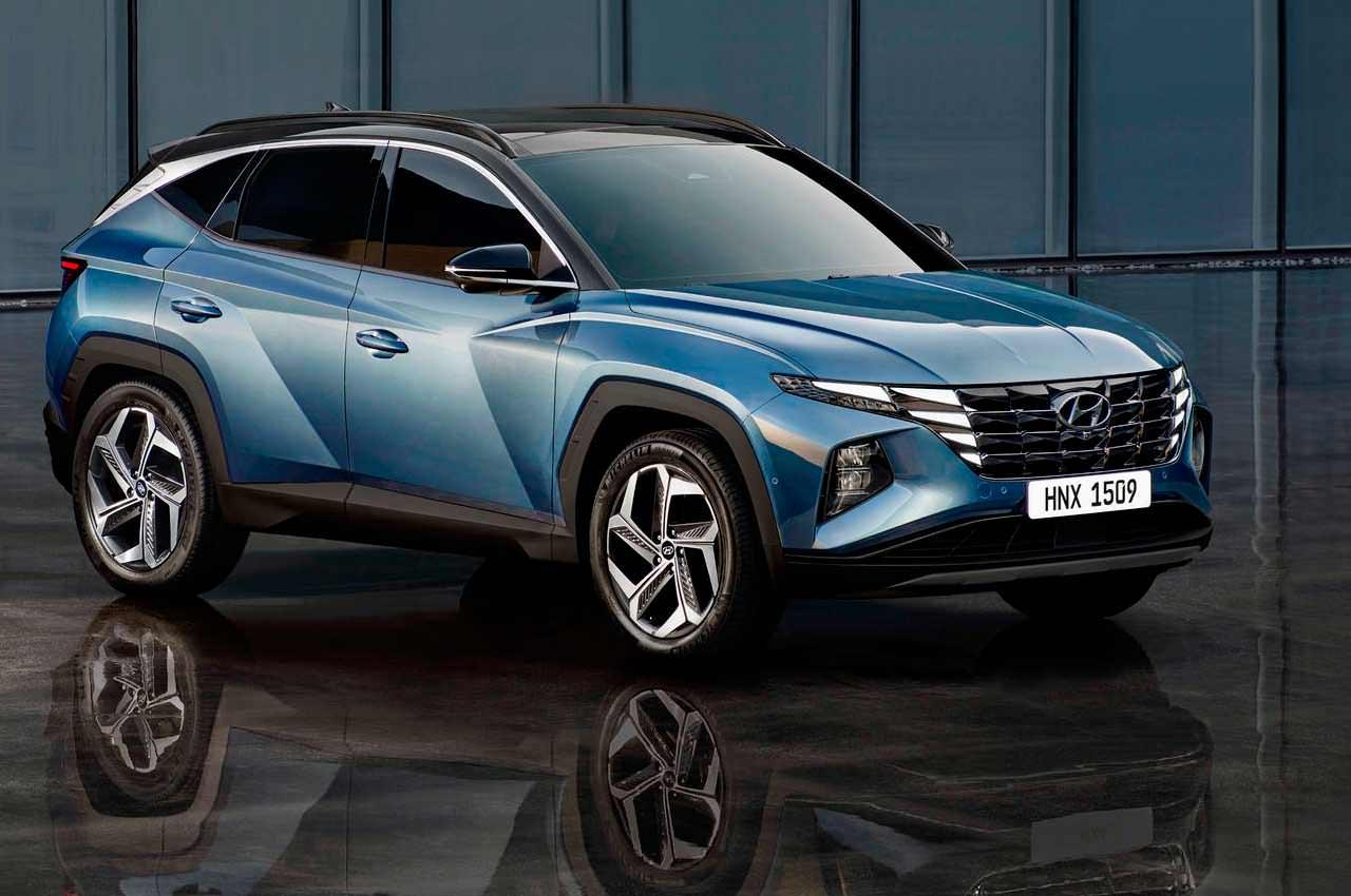 Новый кроссовер Hyundai Tucson показали официально | фото