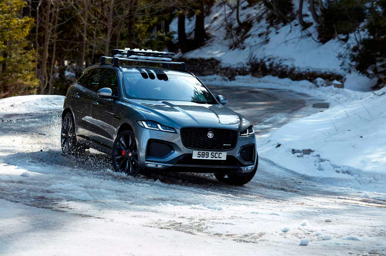Jaguar F-Pace обновился на 2021 год. Официально | фото, цены