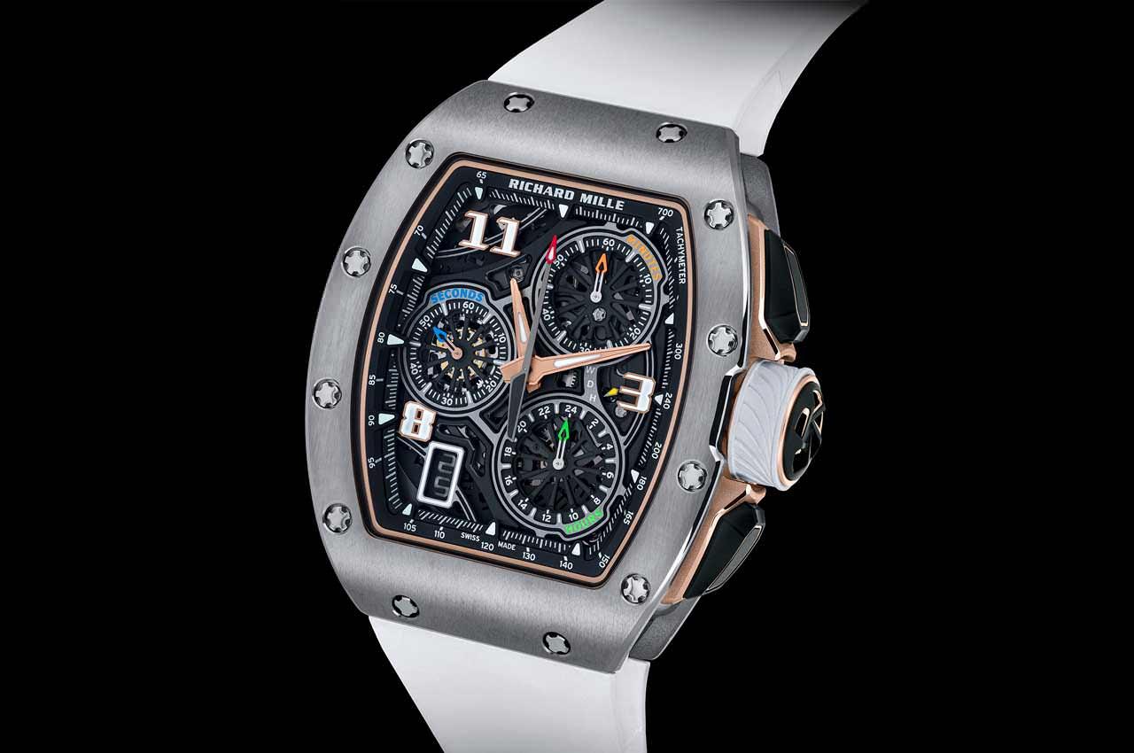 Richard Mille выпустил новый Flyback-хронограф RM 72-01