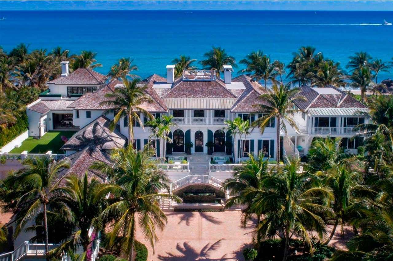 Экс-жена Тайгера Вудса продала виллу в Палм-Бич за $28,6 млн