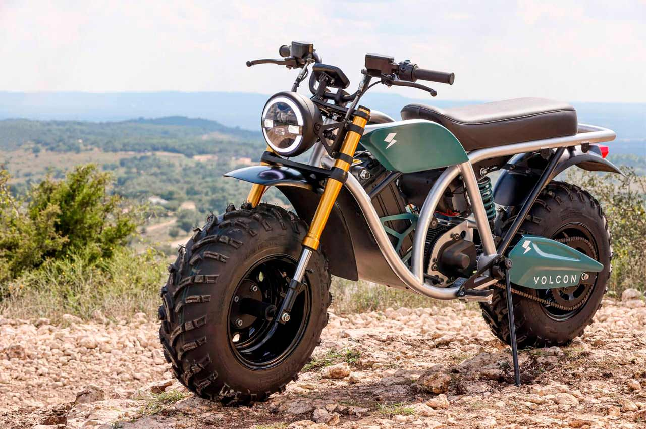 Volcon Grunt — электро-мотоцикл-внедорожник за $5 995 | инфо