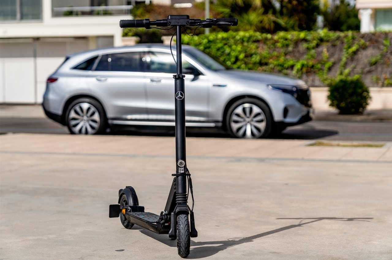 Mercedes-Benz выпустил электро-самокат eScooter. Инфо