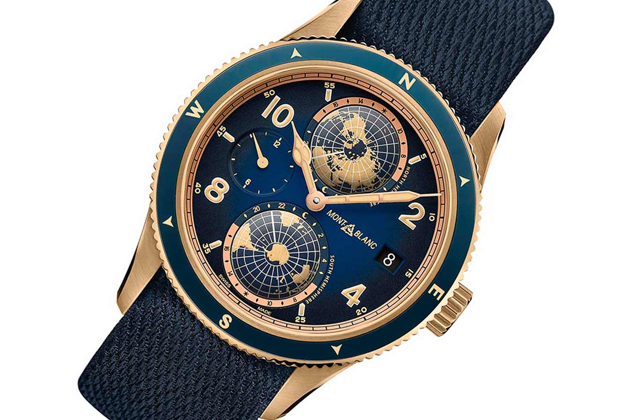 Montblanc 1858 Geosphere Messner — новые лимитированные часы