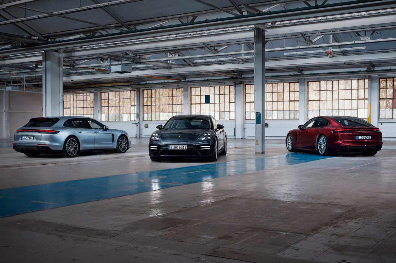 Porsche Panamera Turbo S E-Hybrid сделали рестайлинг | фото