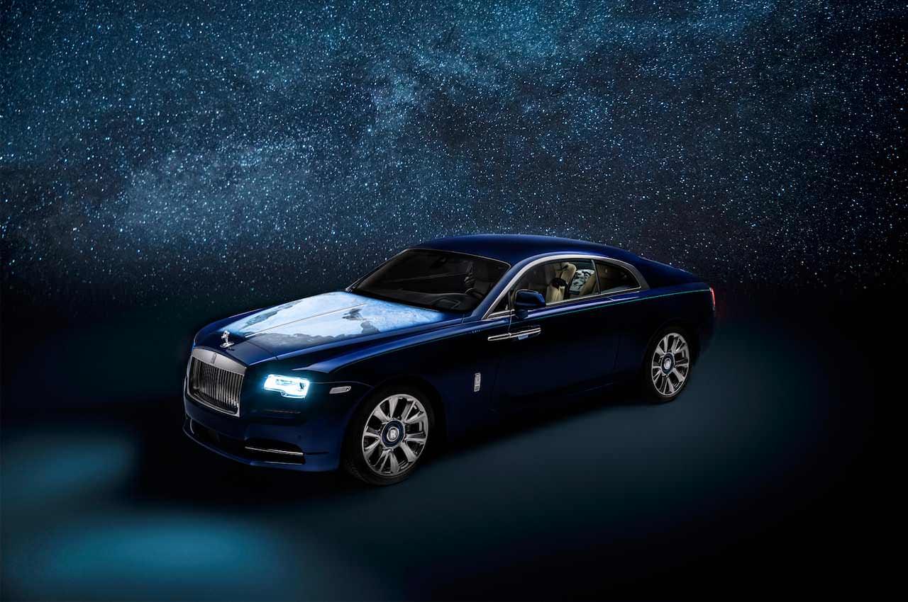 Rolls-Royce Wraith в спецверсии для Среднего Востока | фото