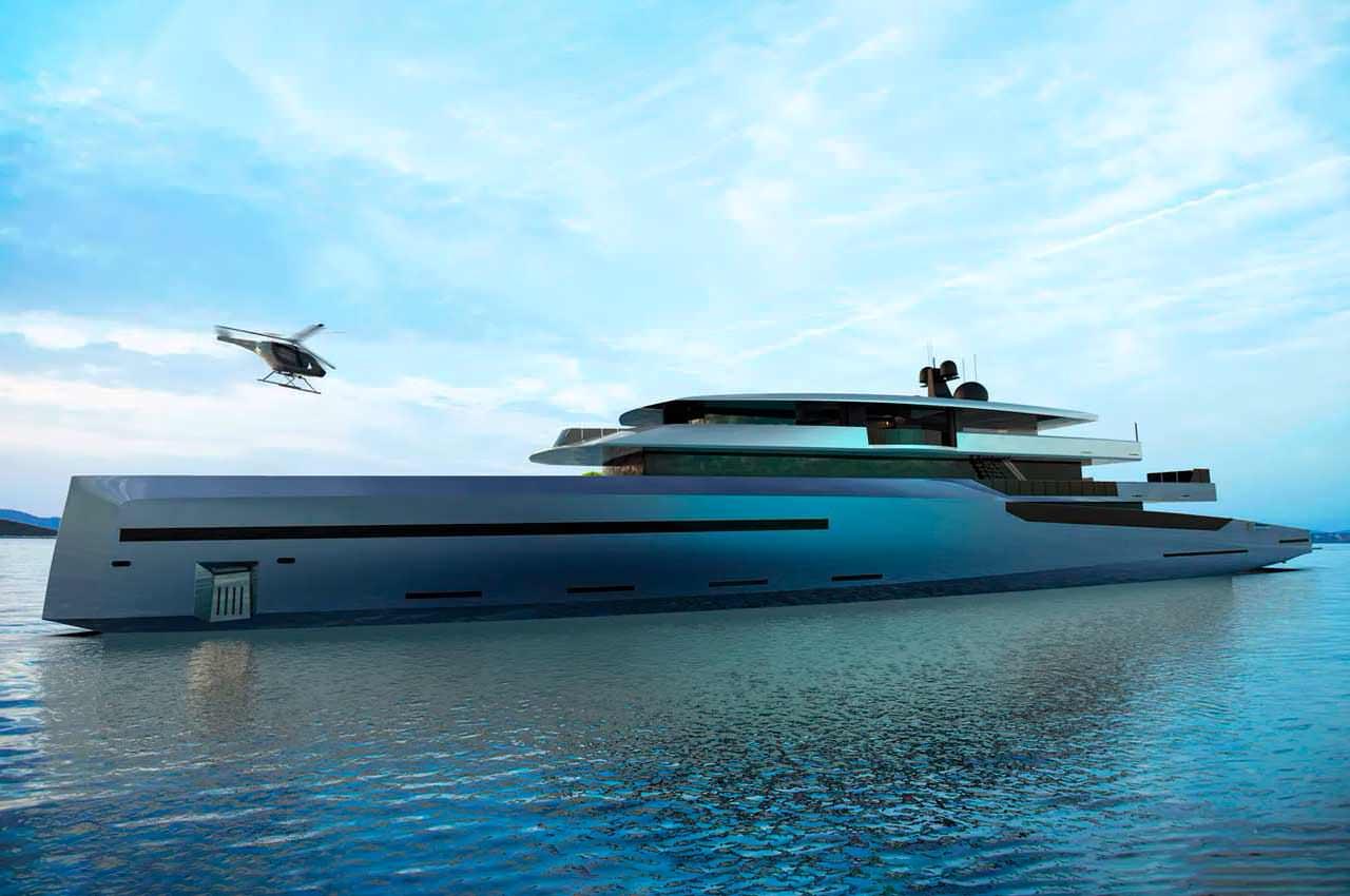 BYD Group показал суперъяхту Concept Bravo 75