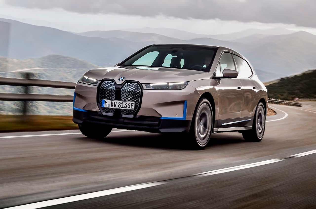 BMW iX: первый серийный электро-кроссовер из Баварии официально