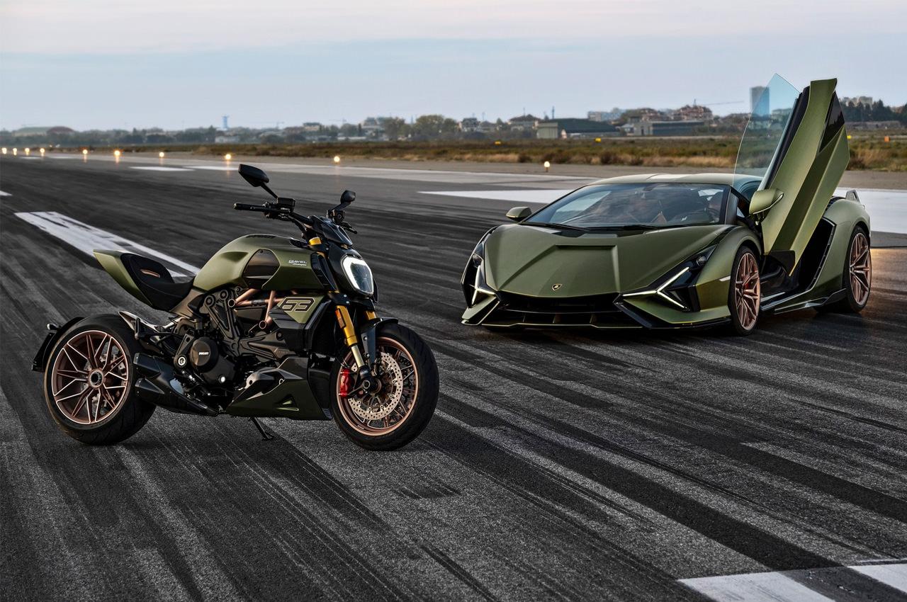 Ducati Diavel 1260 Lamborghini создан в честь Sian FKP 37