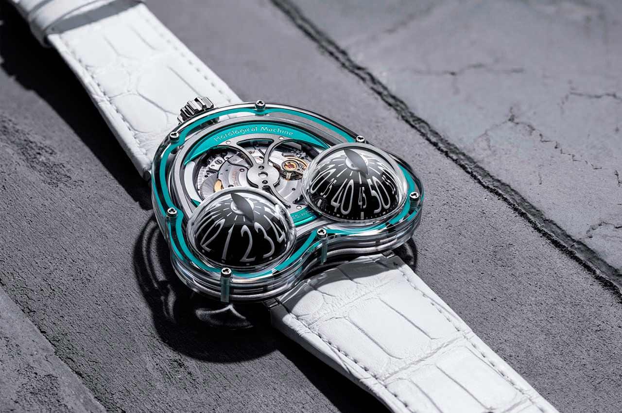MB&F выпустила лимитированную серию часов HM3 FrogX