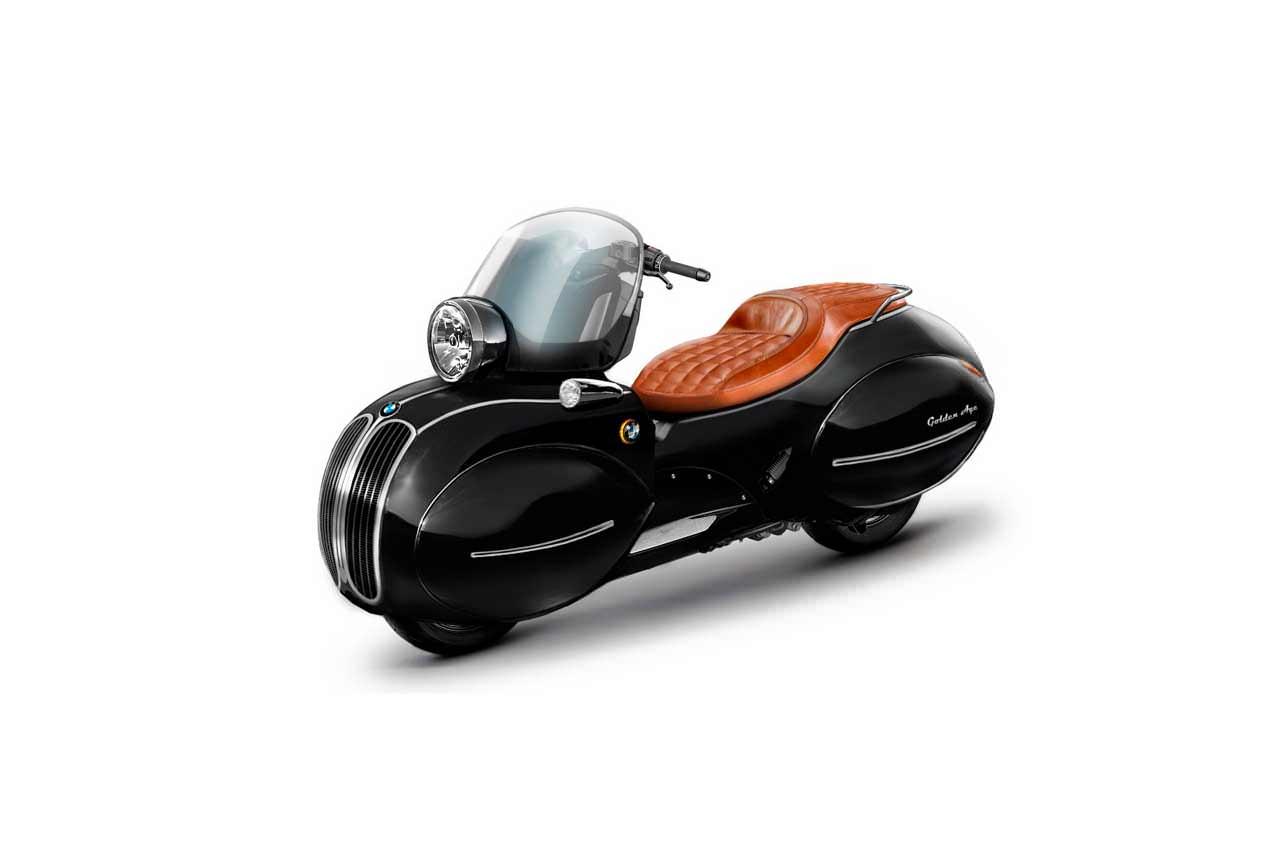 Nmoto сделала ретро-скутер из BMW C400X | фото, инфо