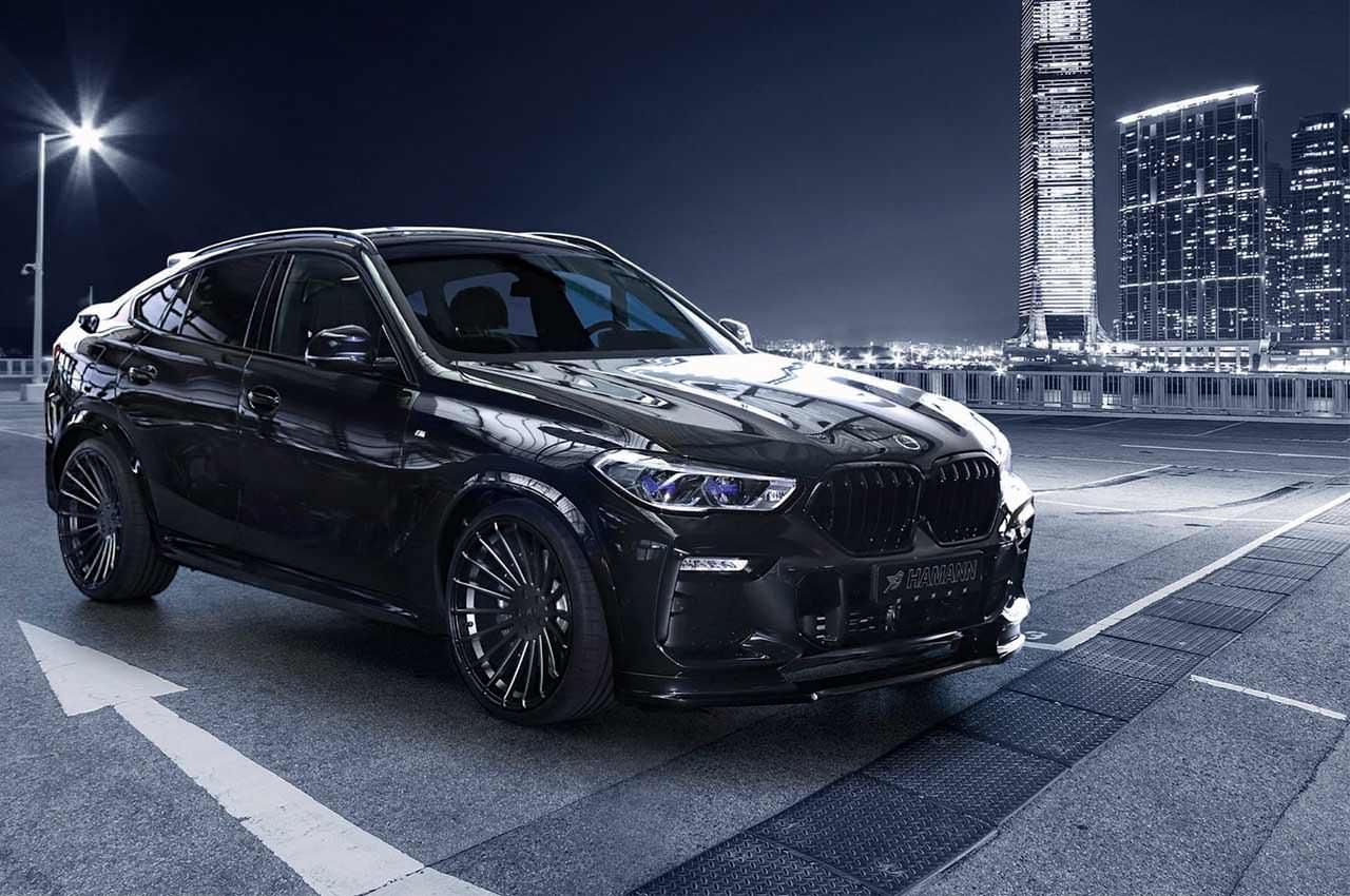 Зловещий тюнинг BMW X6 в кузове G06 от Hamann | фото