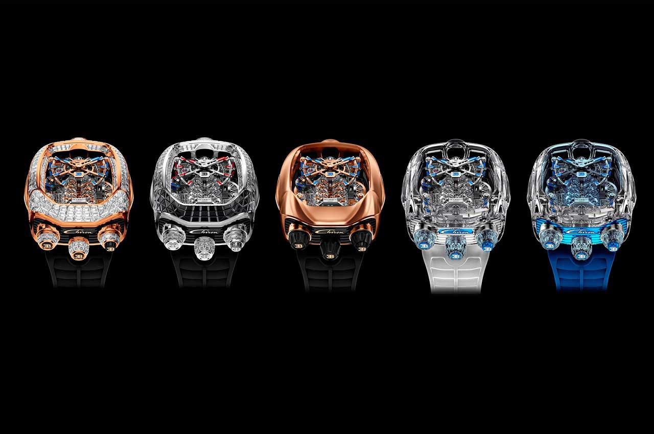 Вышли новые часы Bugatti Chiron Tourbillon по цене $280 000