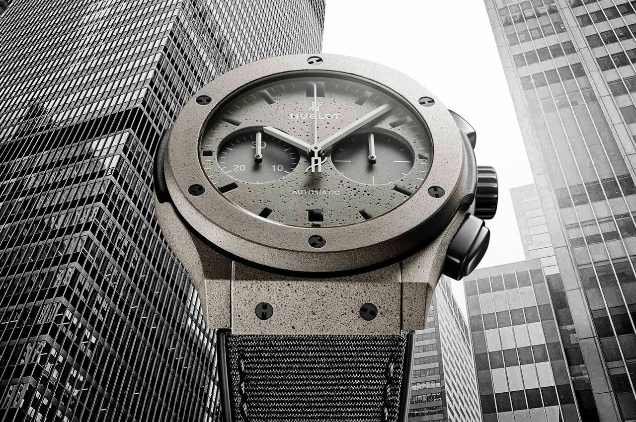 Hublot посвятил часы Classic Fusion бетонным джунглям Нью-Йорка