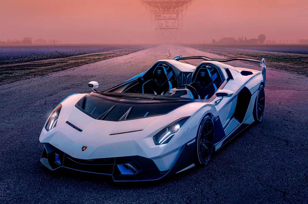 Lamborghini построила спидстер SC20 в единственном экземпляре