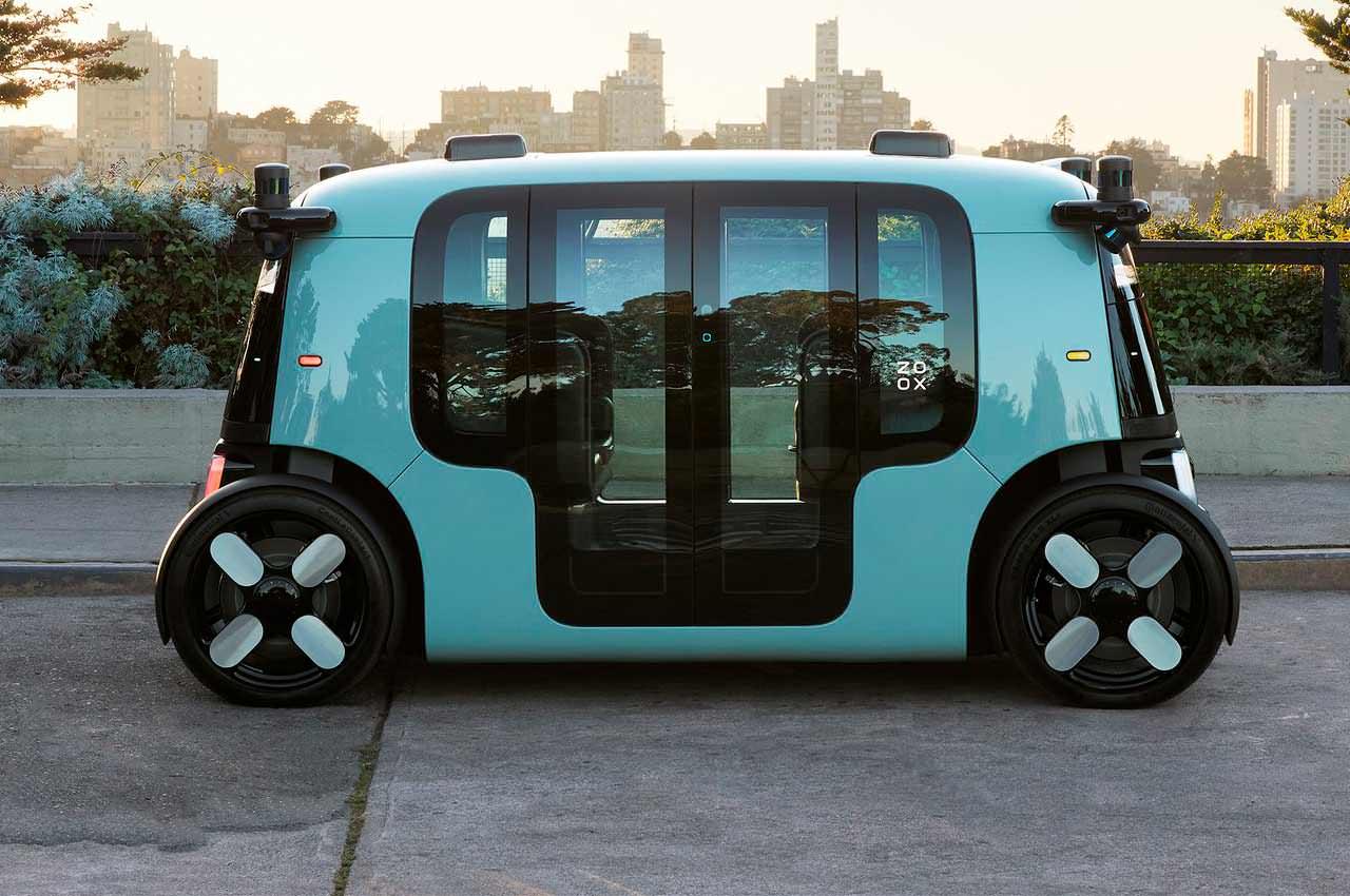 Amazon представил автономное робо-такси на базе стартапа Zoox