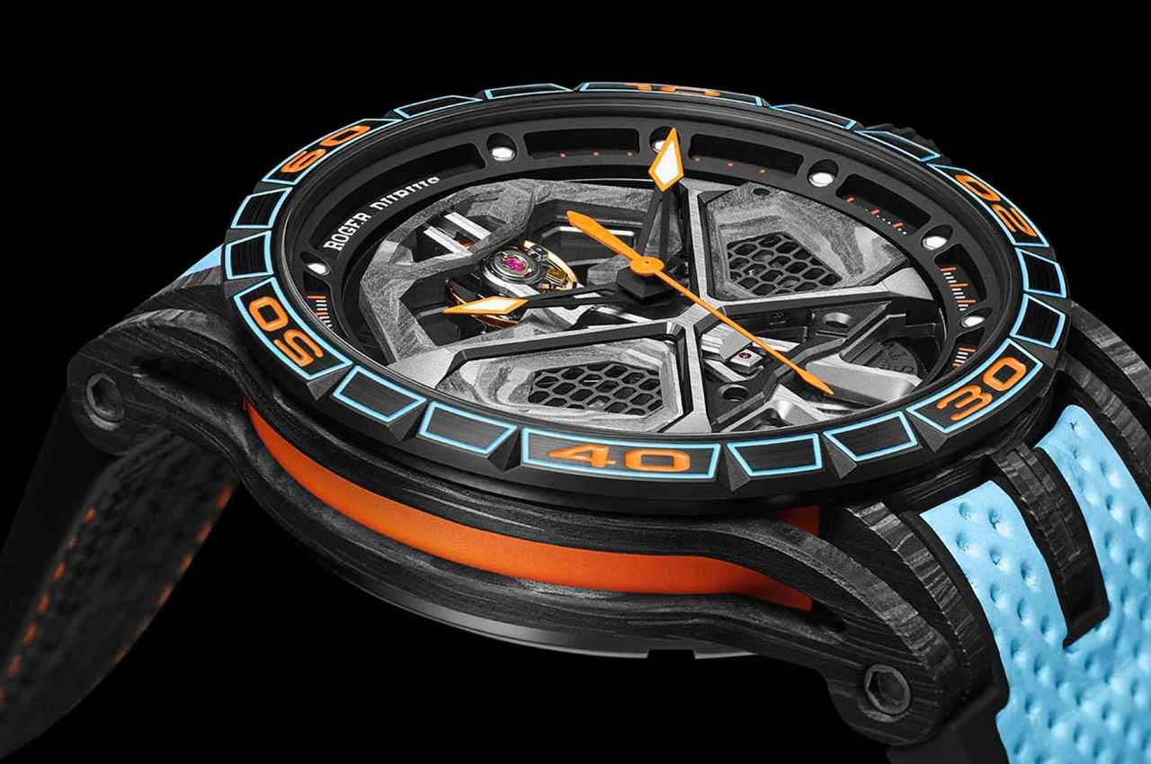 Roger Dubuis сделал часы в честь Lamborghini Huracan STO