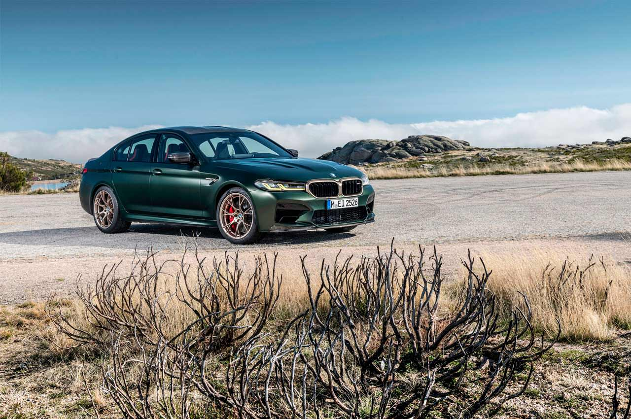 Вышла новая BMW M5 CS: седан-суперкар на 627-сил | фото