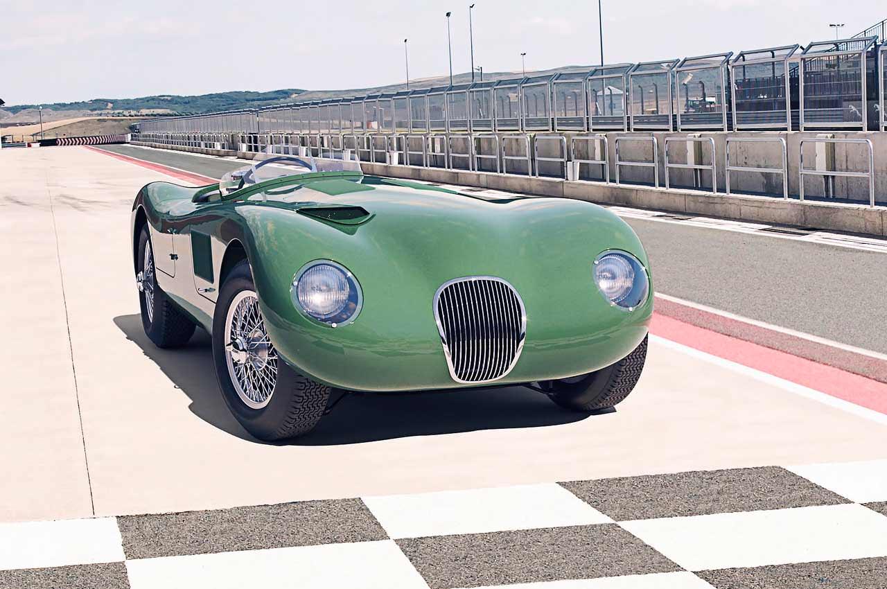 Jaguar возрождает классический C-Type по старым чертежам