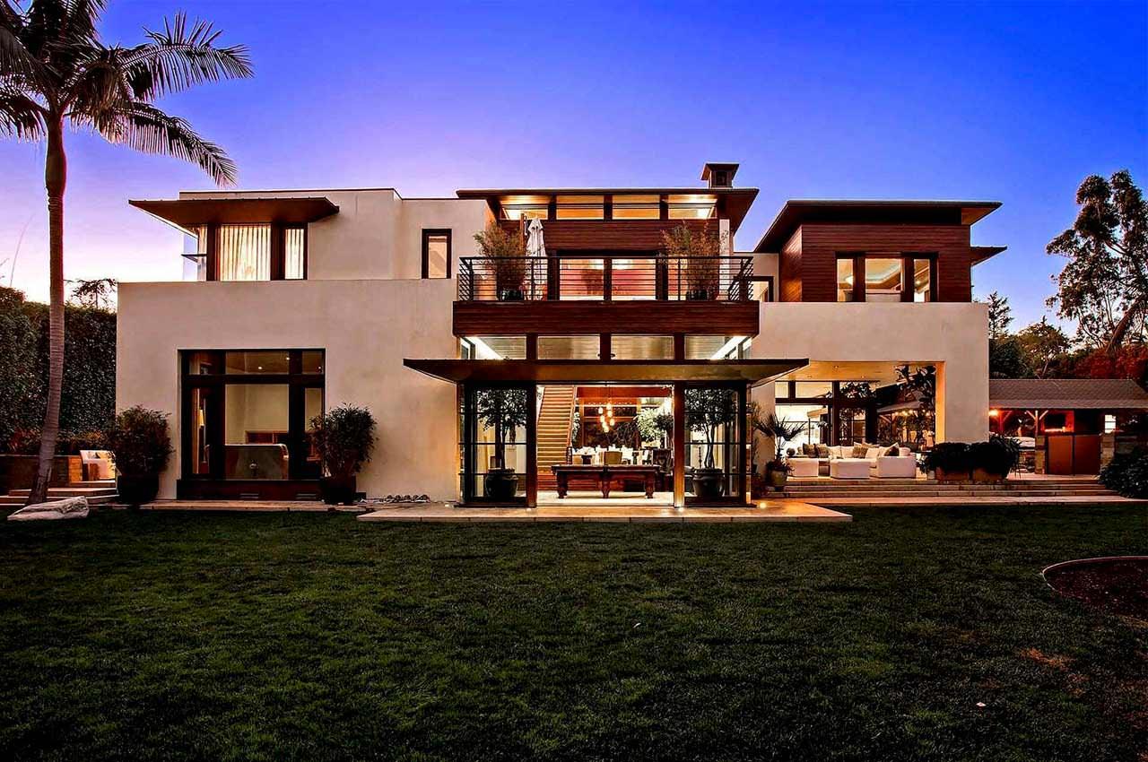 Мэтт Деймон продаёт дом в Пасифик Палисадес | цена и фото