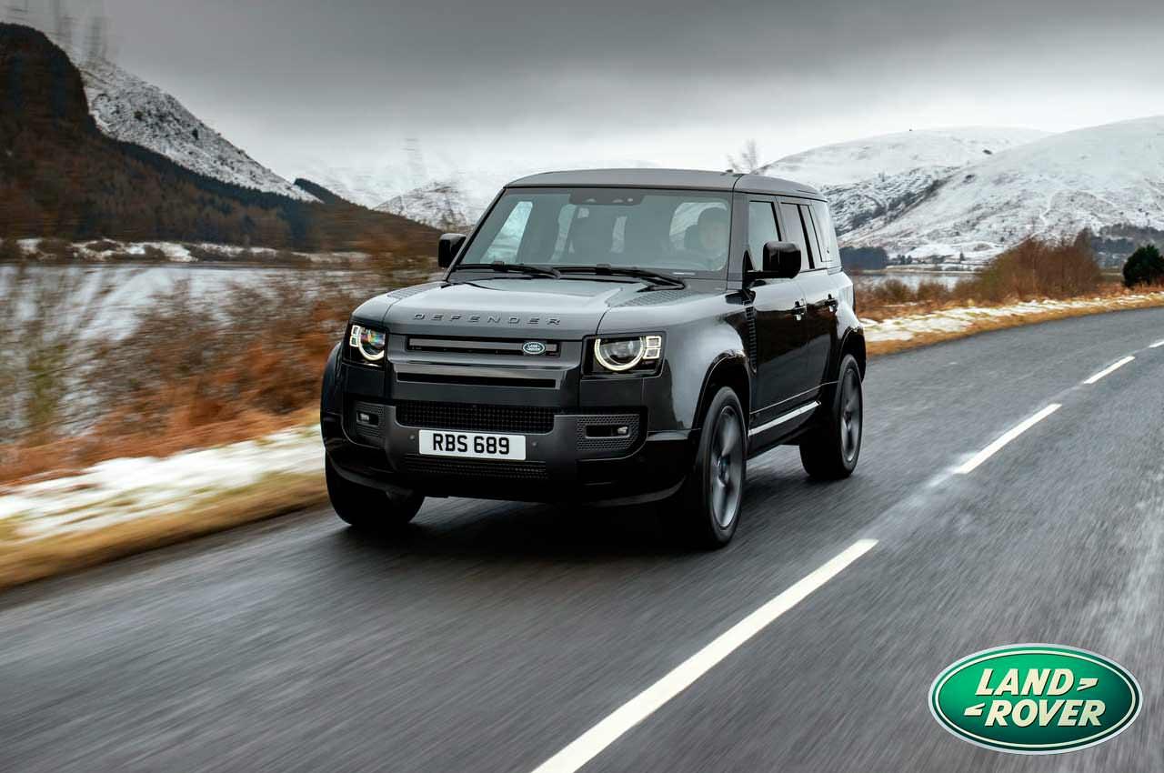 Топовый Land Rover Defender 2022 вышел с двигателем V8 | фото