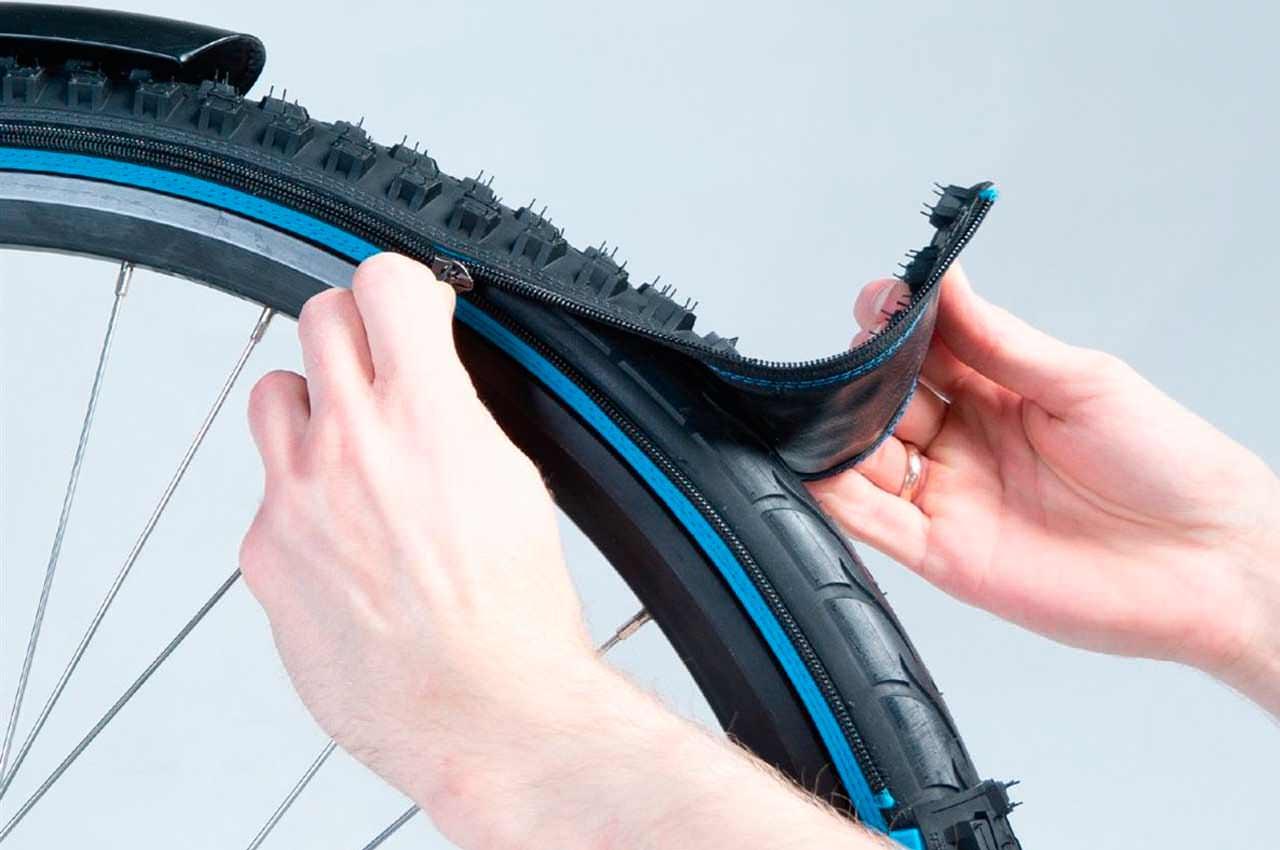 Вышли обновлённые велосипедные шины на молнии от Retyre