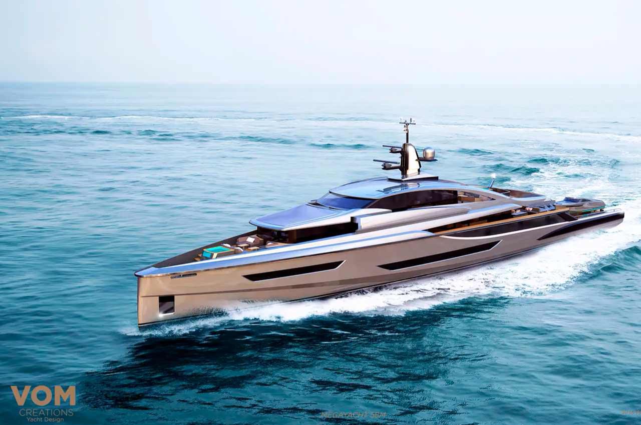 «Миссия невыполнима» вдохновила на дизайн яхты студию Vom Creations