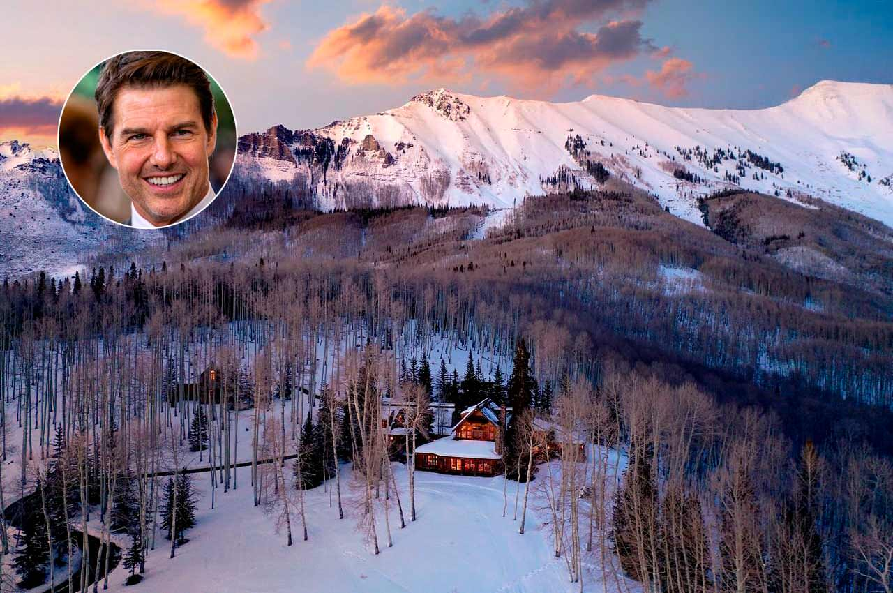 Том Круз продаёт уединённый дом в горах Колорадо за $39,5 млн