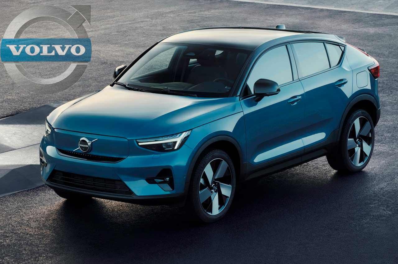 Электро-кроссовер Volvo C40 Recharge вышел в стиле купе