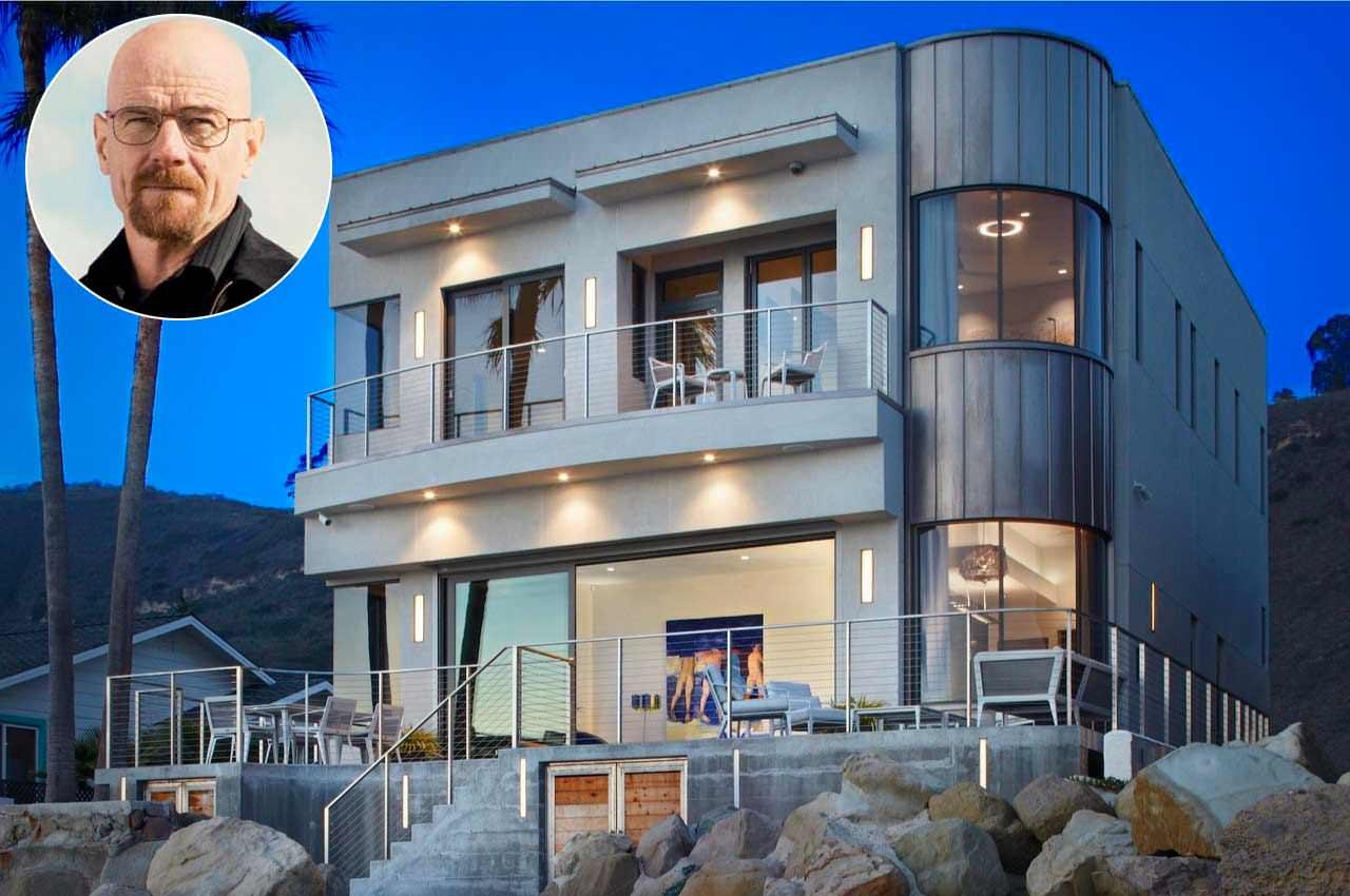 Пляжный дом актёра Брайана Крэнстона продаётся | фото и цена