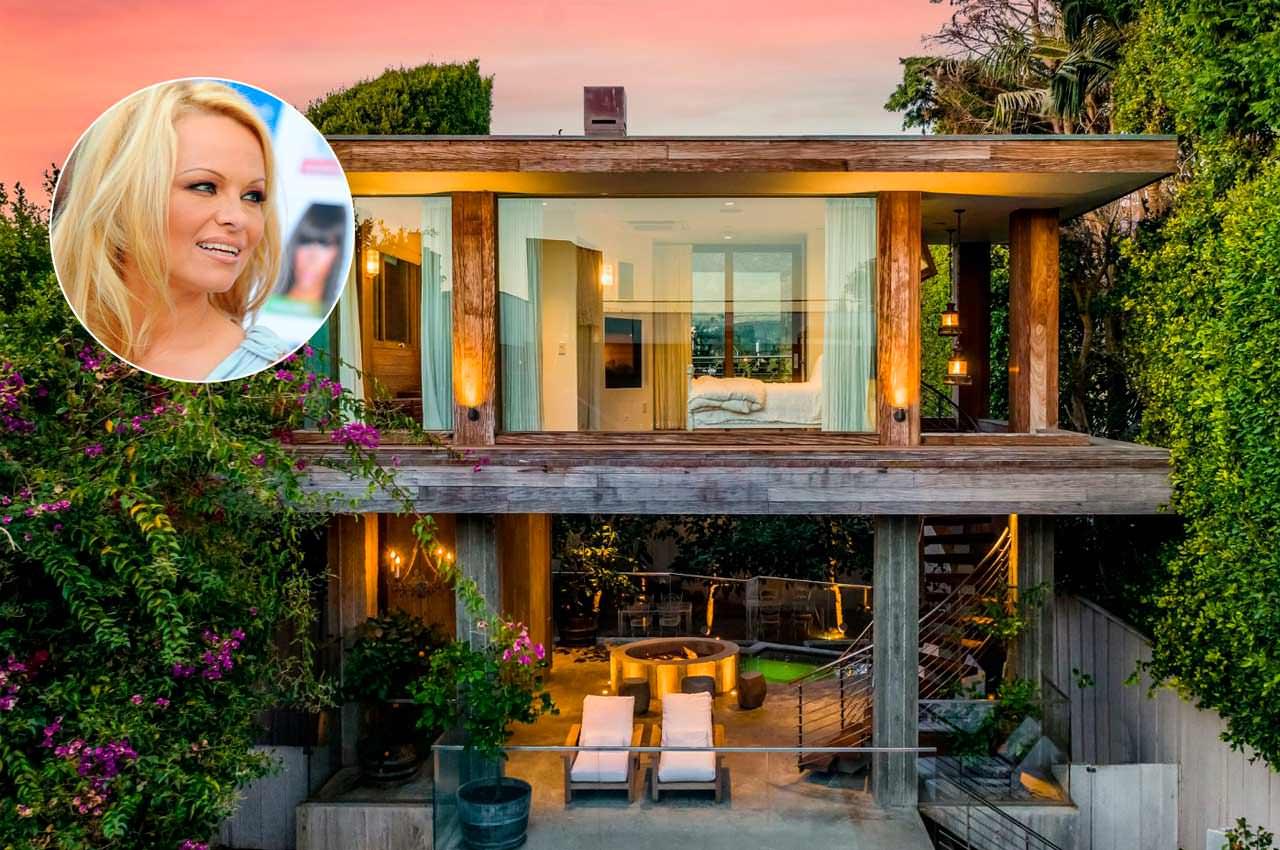 Памела Андерсон продаёт пляжный дом в Малибу за $14,9 млн
